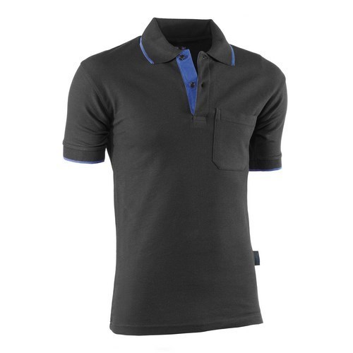 648 POLO NEGRO-AZUL TOP S